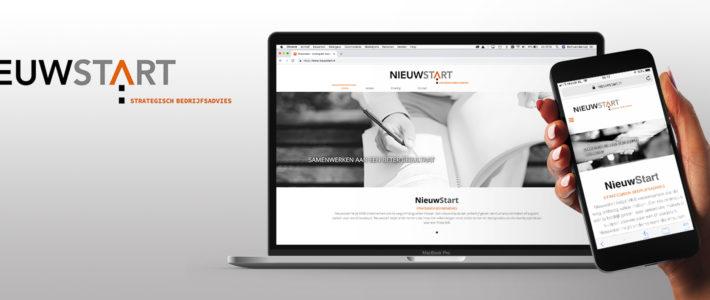 Huisstijl en website Nieuwstart